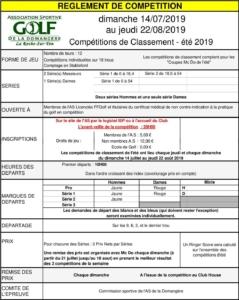 CHAMPIONNAT ÉTÉ TOUR 8 @ Golf de la Domangère | Nesmy | Pays de la Loire | France