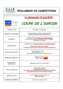 COUPE de L'ESPOIR @ Golf de la Domangère   Nesmy   Pays de la Loire   France