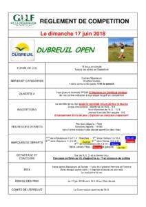 TROPHEE CATHERINE DUBREUIL OPEN @ Golf de La Domangère | Nesmy | Pays de la Loire | France