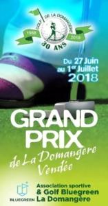GRAND PRIX DE VENDEE 2019 - GOLF de la DOMANGERE @ Golf de la Domangère | Nesmy | Pays de la Loire | France