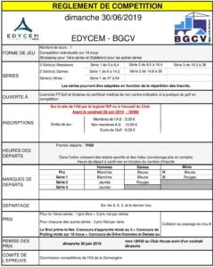 EDYCEM-BGCV @ Golf de La Domangère | Nesmy | Pays de la Loire | France